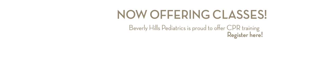 Beverly Hills Pediatrics: CPR Classes